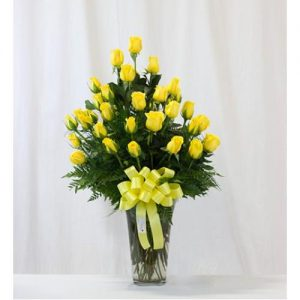 2 Dozen Yellow Roses
