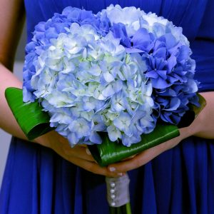 Blue Brides Bouquet